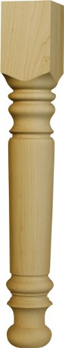 Used, One Piece Ready to Stain - Coffee Table Leg in Soft for sale  Delivered anywhere in USA