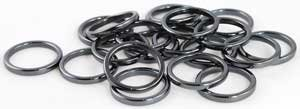 3 Mm Ring (3mm Hematite Rings (20/bag) (JRH20A) -)