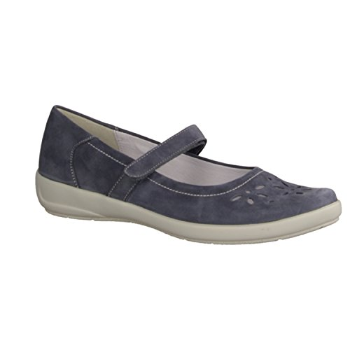 Selmer Damen Slipper navy Blau