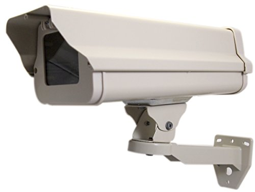 (Evertech Housing CCTV Security Surveillance Outdoor Camera Box Weatherproof Heavy Duty Aluminum - Brackets Included)