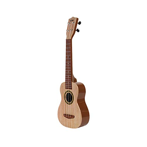 Onefa Ukulele,Beginner Classical Guitar Educational Musical Instrument Toy for Kids (Brown) ()