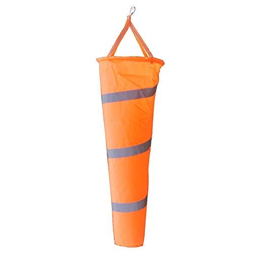 New Arrival Airport Aviation Windsock Outdoor Wind Sock Bag with Reflective Belt Grommet 80cm]()