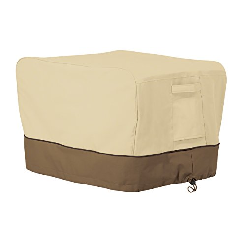 Classic Accessories 55-975-041501-00 Veranda Portable Rectangular Table Top Grill Cover - Laminated Rectangular Tabletop