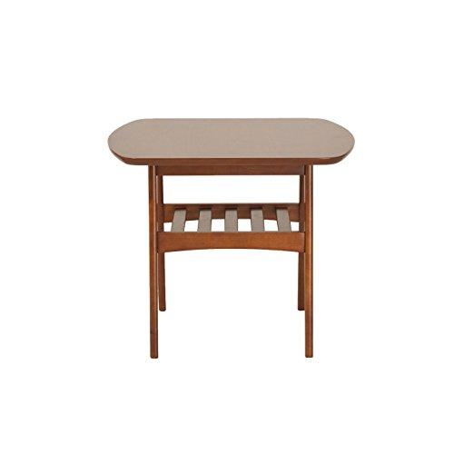 Euro Style Carmela Walnut Finish Side (Euro Style Side Table)