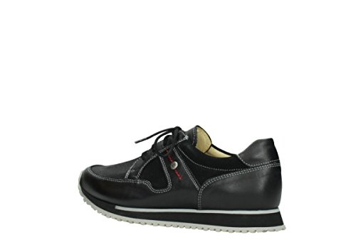 Sneakers Da Donna Wolky E Walk Black Ayr Pettine Stretch 5800200 Nero 308776 Nero