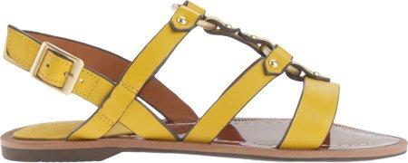 Charles by Charles David Womens Anna Gladiator Sandal Yellow Leather IYJ2rvI6