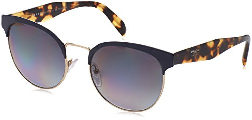 Prada Gold Lens (Prada Unisex 0PR 61TS Blue/Pale Gold/Polar Grey Gradient Sunglasses 54mm)