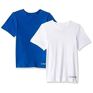 Best Epic Trends 31q3mTBUcPL._SS300_ Calvin Klein Boys' Kids Crewneck Undershirt T-Shirt, 2 Pack