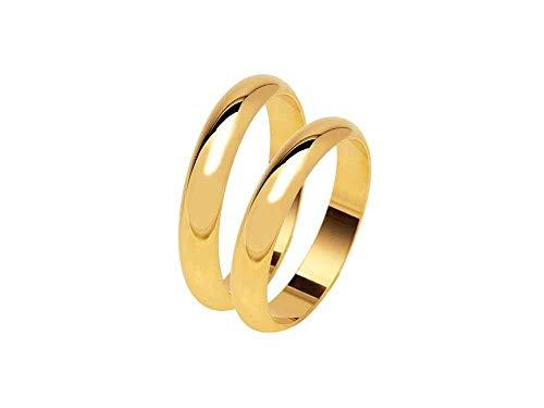 fe3505e03dfb Artesanal de Boda de 5 Gramos Aprox. Color Oro O Plata De Plata 925 Anillo  de Matrimonio Personalizado con TU Nombre y Fecha Grabados en el Interior y  ...