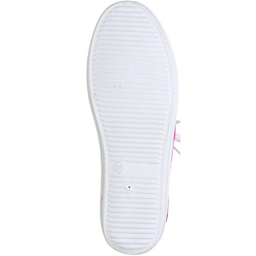 DT New York Damen Sneaker pink Pink