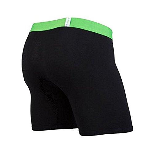 MYPAKAGE Weekday Boxer Brief - Black Green - Medium (32-34)