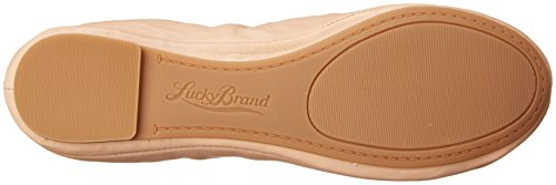 Brand Lucky Cuir Chair Ballerines Emmie Couleur fHdqa1SWFH