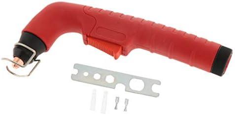 FLAMEER プラズマ切断トーチ S45ヘッドボディ空冷切断トーチ プラスチック プラズマカッター用トーチ