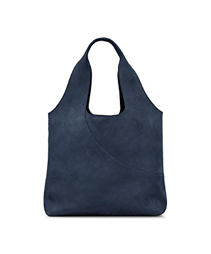 SHOPPING IN SUEDE BLUE