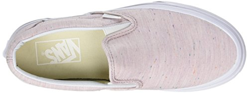 Vans Classic Slip-on Pink/True White low shipping cheap online buy cheap the cheapest EwTVo