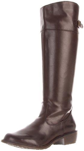 MIA 2 Womens Theodora Knee-High Boot Chocolate