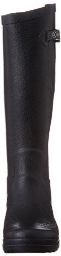 Aigle Benyl Mollet Large, Botas de agua mujer negro - Schwarz (noir)