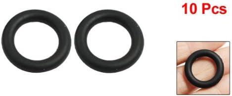4/mm x 22/mm Black Rubber Sealing O Ring Seal T/üllen Waschmaschine 10/PCS
