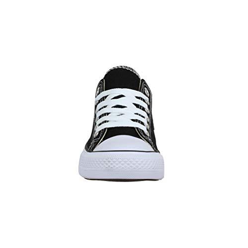 Schwarz Elara Elara Sneaker Basic Sneaker Schwarz Basic Elara Donna Donna Sneaker qztBwtf6x