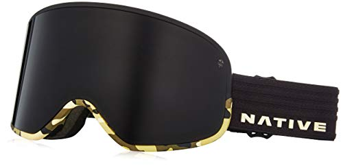 Native Eyewear Tenmile Ski-Goggles, Dark Gray/Black/Camo -