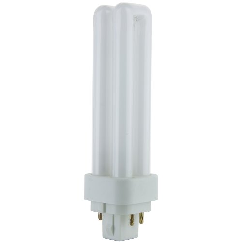 Sunlite PLD13/E/SP65K 13-Watt Compact Fluorescent Plug-In 4-Pin Light Bulb, 6500K Color ()
