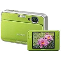 Sony Cybershot DSC-T2 8MP Digital Camera with 3x Optical Zoom (Green)