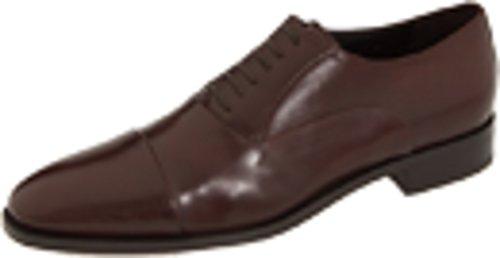 Cap Toe Nappa Oxford - Bruno Magli Men's Maioco Cap Toe Shoes,Dark Brown Nappa,6.5 M US