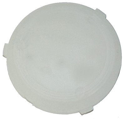 Frosted Dome Lens - 69-76 GM Roof Headliner Round Dome Light Lamp Lens Cover Frosted White Smooth (J-3-2)