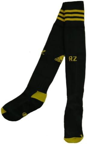 adidas Real Zaragoza Equipo Largo Calcetines de fútbol (Producto Oficial), (Home) Black/Yellow: Amazon.es: Deportes y aire libre