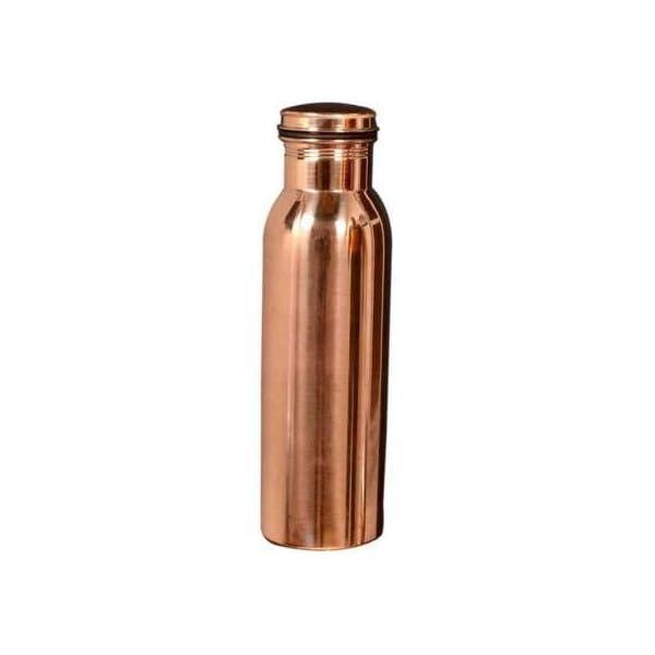 DIVYA JYOTI TRADERS Copper Water Bottle, Brown