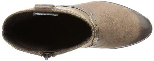 Tamaris TAMARIS - Botas tacón, color: Grau marrón - Braun (COGNAC 305)