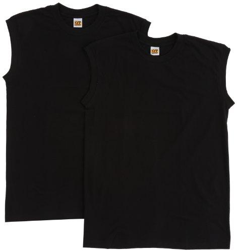 心臓いっぱいコスチューム(グンゼ) GUNZE インナーシャツ G.T.HAWKINS 綿100% サーフシャツ 2枚組