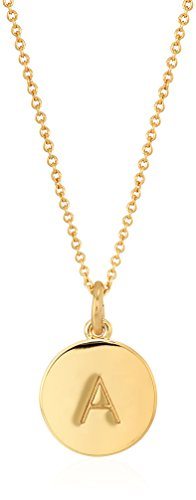 "Kate Spade New York ""Kate Spade Pendants A Pendant Necklace, 17"" + 3.5"" Extender"