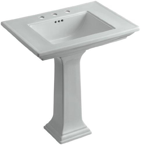 KOHLER K-2268-8-95 Memoirs Pedestal Bathroom Sink with 8