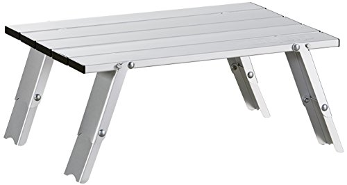 Uquip Handy - Mesa de aluminio plegable - 2 alturas seleccionables (11/16 cm)