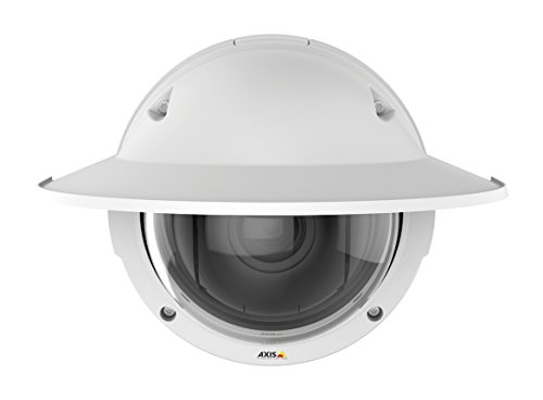 Axis Communications Q3615-VE Outdoor Day & Night HDTV 1080p Network Dome Camera with 4.1-9mm Varifocal Lens, Up to 50/60fps (No WDR), Up to 25/30fps (WDR), H.264, MJPEG, PoE, White by AXIS COMMUNICATION INC (Image #1)