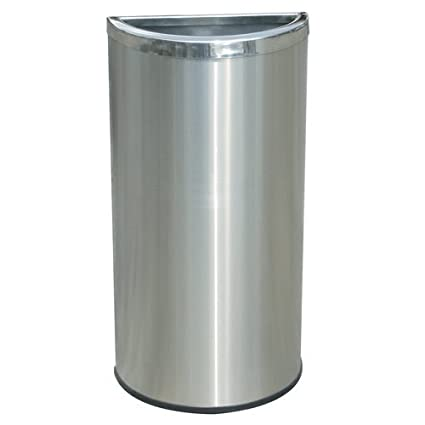 Amazoncom Half Moon Garbage Can Home Kitchen