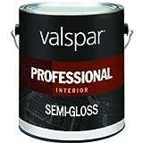 VALSPAR CORPORATION 11900 Semi Gloss Hi-Hiding White 1 gallon Professional Interior Latex Paint