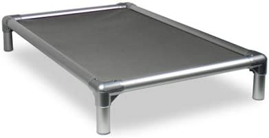 Kuranda-Dog-Bed-Chewproof-All-Aluminum-(Silver)