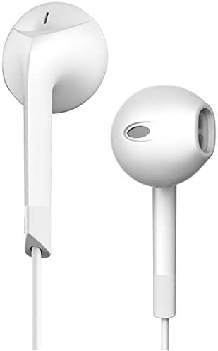 kanmeipp In-Ear Headphones, Bass Audio Headphones with Microphone, High-Fidelity Earbuds, Colorful Headphones, Suitable For Xiaomi Samsung Huawei A