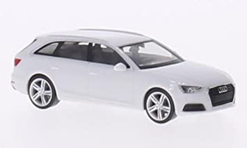 Audi A4 B9 Avant Weiss 2015 Modellauto Fertigmodell Herpa 1 87 Spielzeug