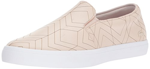 Lacoste 417 1 - Zapatillas para Mujer, Rosado Claro, 7.5 M US