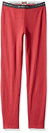 Icebreaker Merino Girls Kids Compass Leggings, Wild Rose, 04