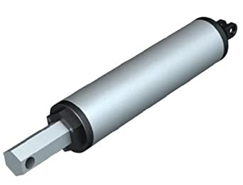 TSINY High Speed 24 VDC Stroke 100mm 4inch Force 120N Electric Tubular Linear Actuator