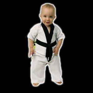 Playwell Artes Marciales Bebé Niño Uniforme de Karate (Traje ...