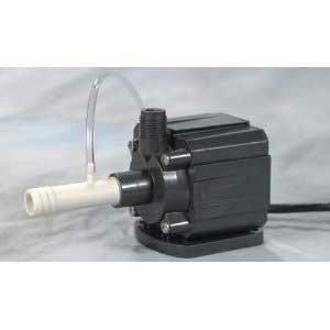 Danner Supreme 06010 Model 9.5 Aqua-Mag Air Fractionating Water Pump 950 GPH - Adjustable Venturi, Aerating Impeller, Energy Efficiency, 10 Foot Cord, Muffler - Saltwater, Freshwater, Submerged, Inline