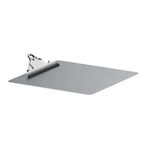 Metal Clipboard Paper Holder Letter Size-Highest Quality File A4 Aluminum Holder for Office Business Steel clipboard by SUNNYCLIP