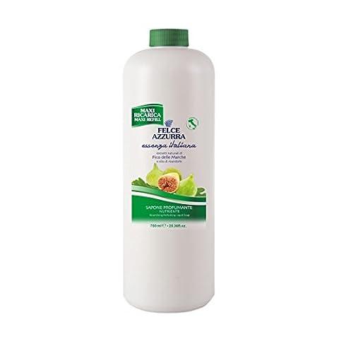 Felce Azzurra Essenza Italiana Liquid Soap Nourishing - Figs of Marche 750ml 25.36oz Refill - Moments Fig