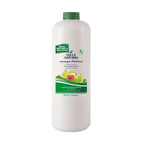 Felce Azzurra Essenza Italiana Liquid Soap Nourishing - Figs of Marche 750ml 25.36oz Refill ()