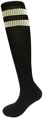 SoftskySocks Calcetines 3 Pares de Medias de fútbol para Adultos Medias Leggings Sobre la Rodilla Calcetines Deportivos